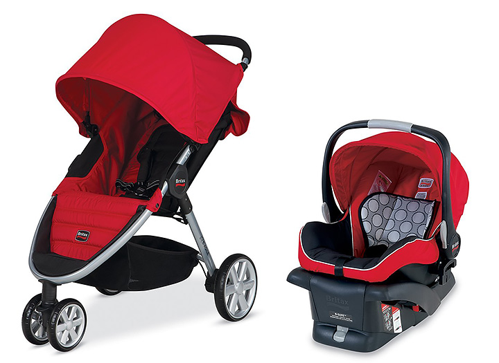 Britax B-Agile and B-Safe Travel System